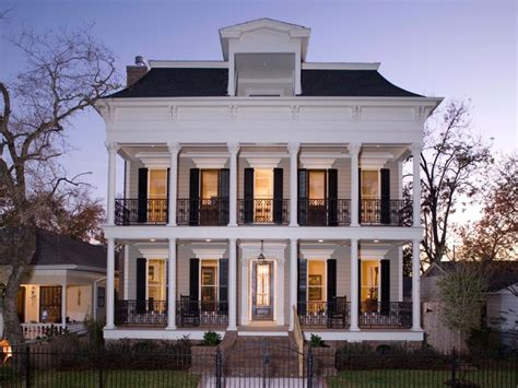 Plantation Style House Plans by Elevations Traditional Exterior Houston By Creole