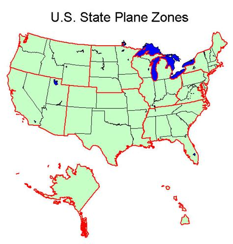 texas state plane map state plane coordinate system xms wiki