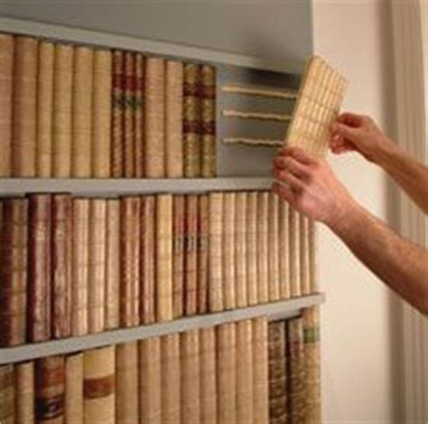 how to make a secret bookshelf door this could be adapted