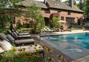 Backyard Pool Landscaping Ideas Landscaping Designs Landscaping Ideas Small Sloped Yard Drainage