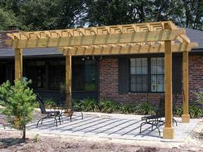 Images Of A Pergola by Pergolas Amp Arbors Enhance Pavers Retaining Walls