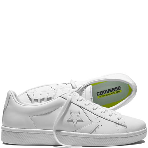 Leather Pros And Cons by Cons Pro Leather 76 White Converse Es