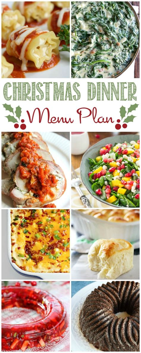 christmas dinner menu plan cooking with curls