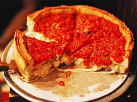 best chicago pizza what is chicago dish pizza business insider