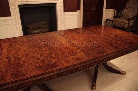 8 foot dining table flame mahogany dining table for seating 8 14 people 12