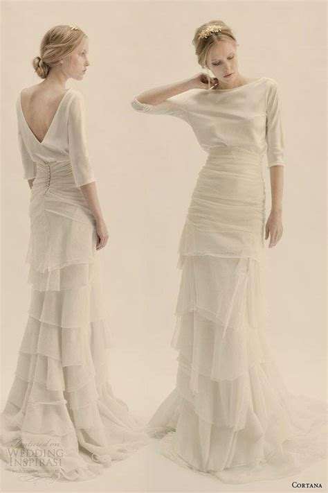 36 ultra glamorous two piece wedding dresses 2153404