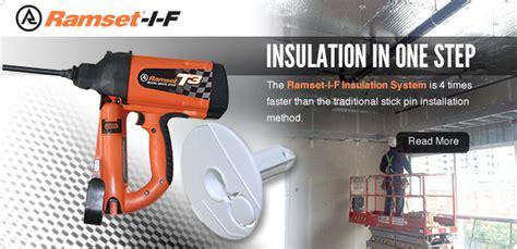 Bor Ramset powder actuated gas nail gun tools concrete nail gun