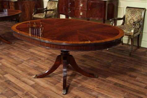 round dining room table with leaf round mahogany dining table with leaf four leg reeded