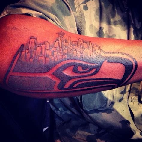 seahawks tattoos designs ideas and meaning tattoos for you