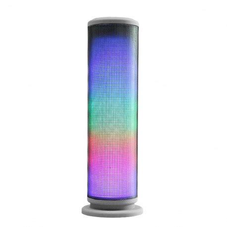 Bluetooth Speaker Mini Led Speaker Lu Warna Speaker Aktif Mini kingwon jhw v169 speaker mini bluetooth dengan lu led dan fm radio silver