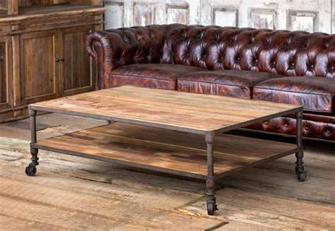 Tables Park Hill by Park Hill Reclaimed Wood Coffee Table Nb401