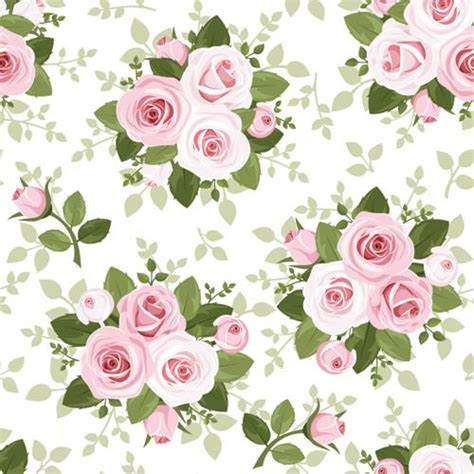 pattern vintage rose 10 free vector rose patterns freecreatives