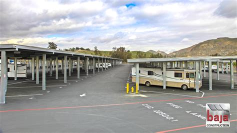 boat and rv storage canyon lake why invest in rv storage baja carports solar support