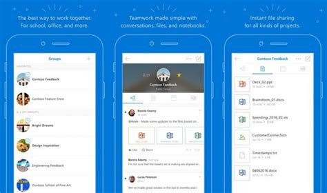 Office 365 Outlook Groups Microsoft Overhauls Outlook Groups Ios App For Office