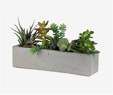 indoor windowsill planter 32 uniquely beautiful concrete planters