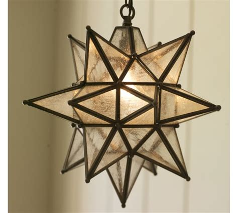 christmas light fixture indoor outdoor pendant pottery barn