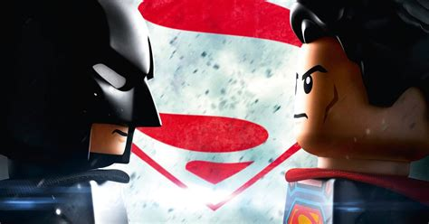 Lego Superman Vs Batman batman vs superman gets a lego poster cosmic book news