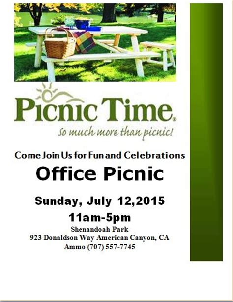 free ms word picnic flyer template formal word templates