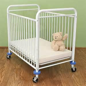 metal compact crib