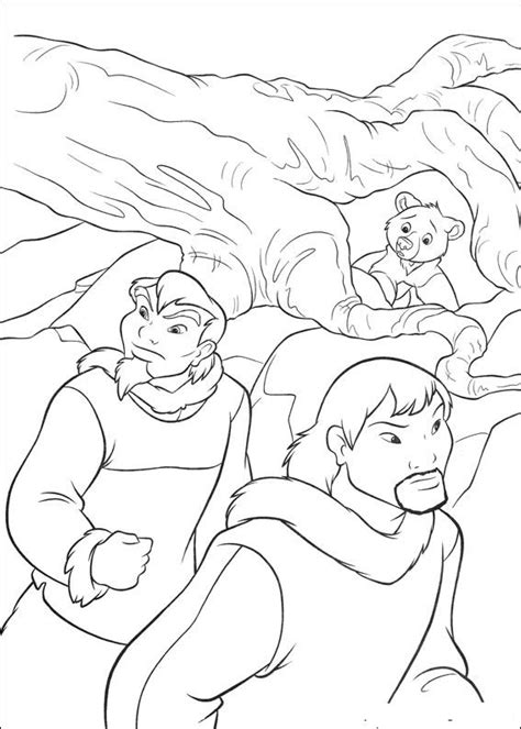 kids n fun com 58 coloring pages of brother bear 2