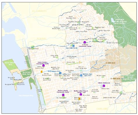 berkeley cus map map of berkeley waterfront pictures to pin on pinsdaddy
