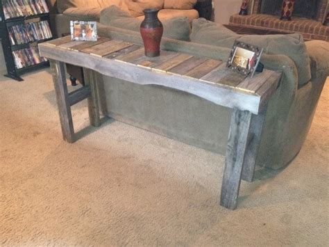 Sofa Table Made From Pallets Impressive Wooden Pallet Sofa Table Ideas Pallets Designs