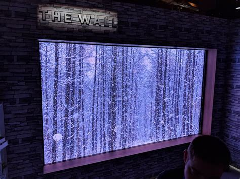 Samsung The Wall Samsung Quot The Wall Quot Micro Led Modular 146 Inch Tv Photos Business Insider
