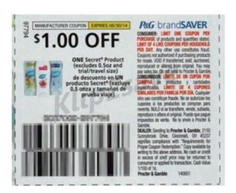 Secret Deodorant Printable Coupons free secret deodorant at dollar tree with insert coupon