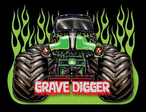 videos de monster truck 4x4 grave digger wallpapers wallpaper cave