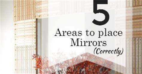 unique feng shui blog  areas   mirror