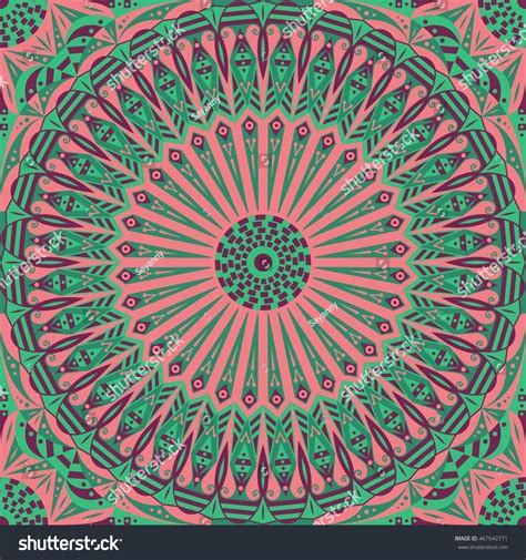 colorful ethnic wallpaper colorful ethnic patterned background arabesque vector