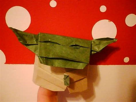 How To Make Origami Yoda Finger Puppet - finally for folding an origami yoda like the