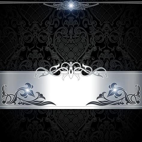 black  white decorative background stock illustration