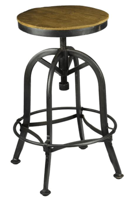 Akron Adjustable Height Bar Stool by Akron Peters Billiards