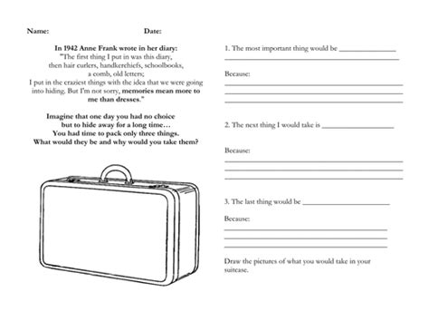 anne frank biography template diary of anne frank worksheets worksheets releaseboard