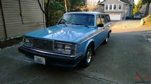 Volvo 240 Dl Wagon Volvo 240 Dl Wagon Well Preserved Great For The Volvo