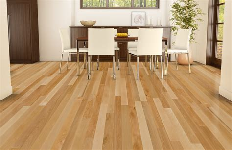 beautiful natural wood dining room floor ideas