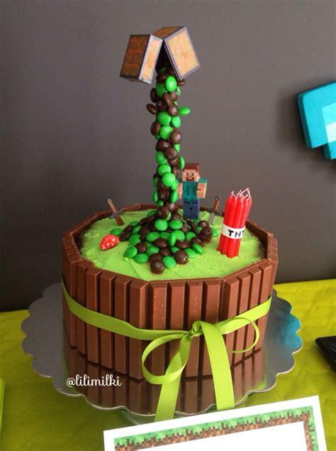 How To Decorate A Minecraft Cake by Best 25 Cake Minecraft Ideas On Mine Craft