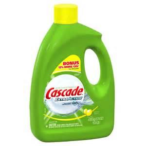 Cascade Dishwasher Cleaner Cascade Gel Dishwasher Detergent 174 Oz Ebay