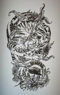 Tattoo half sleeve designs black and white best home decorating