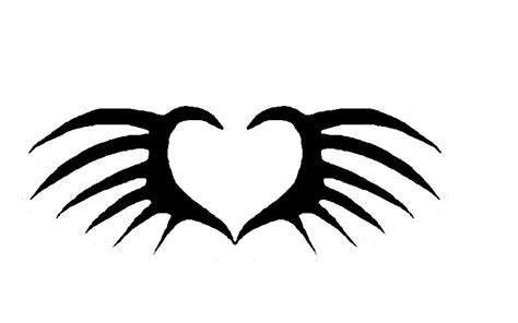 simple tattoo wings simple wing tattoos clipart best
