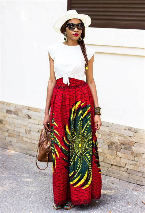 Weily Maxi maxi skirt inspiration with hat