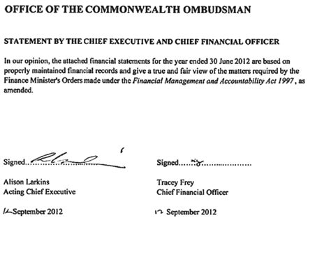 Financial Ombudsman Newsletter commonwealth ombudsman annual report 2011 2012 appendix