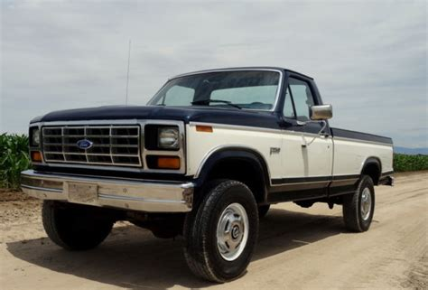 car owners manuals for sale 1984 ford f250 interior lighting 1984 ford f250 1 owner original low mileage 4x4