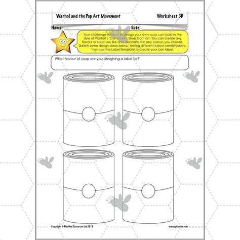 soup can label templates printable label templates