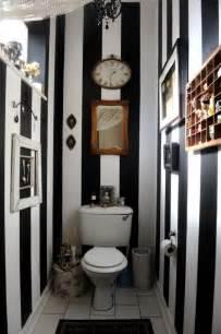 Black And White Small Bathroom Striped Black And White Small Bathroom Decozilla