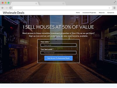 house websites wholesale houses real estate websites