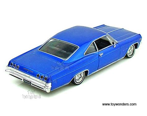 Welly Chevrolet Custom Decal 1965 chevrolet impala ss 396 low rider top by welly 1