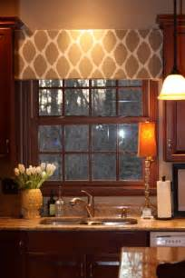 Kitchen Curtain Ideas Small Windows Diy Cornice Home Decor Pinterest