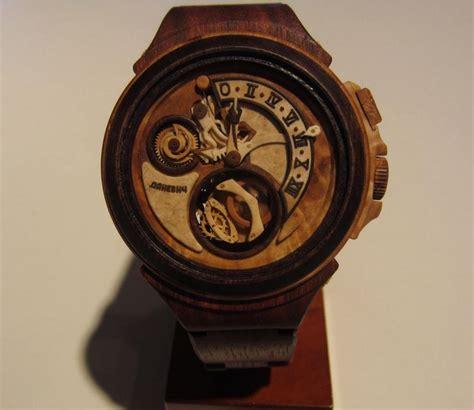 Unique Clocks wooden watch wonders from valerii danevych